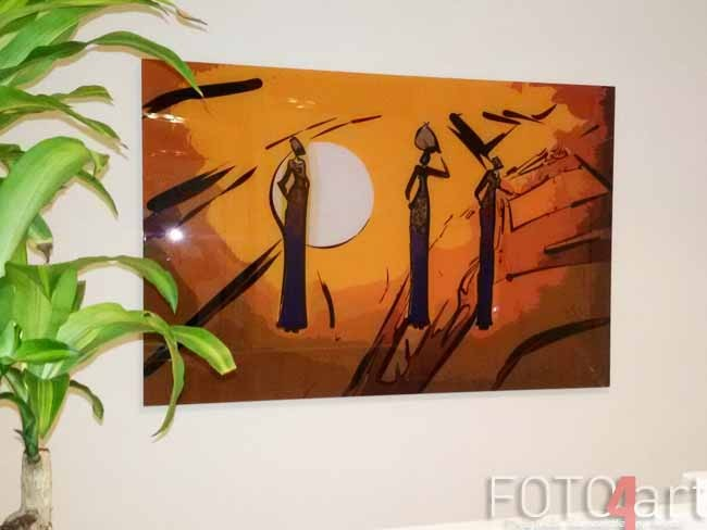 Foto op Plexiglas Afrikaanse Motieven